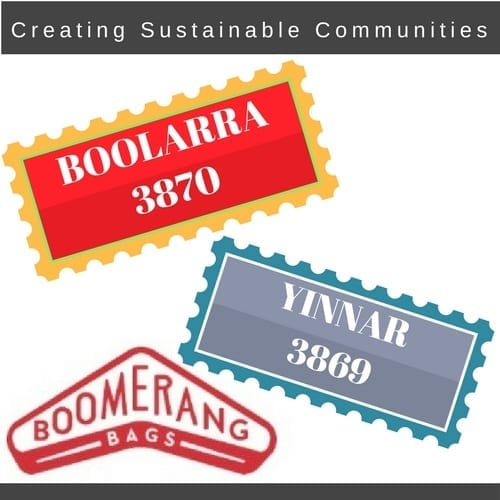 Boomerang Bags Boolarra and Yinnar