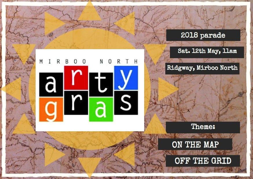Arty Gras Poster