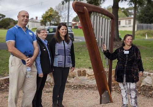 BCD SRCLE MNDCF Bell Harp