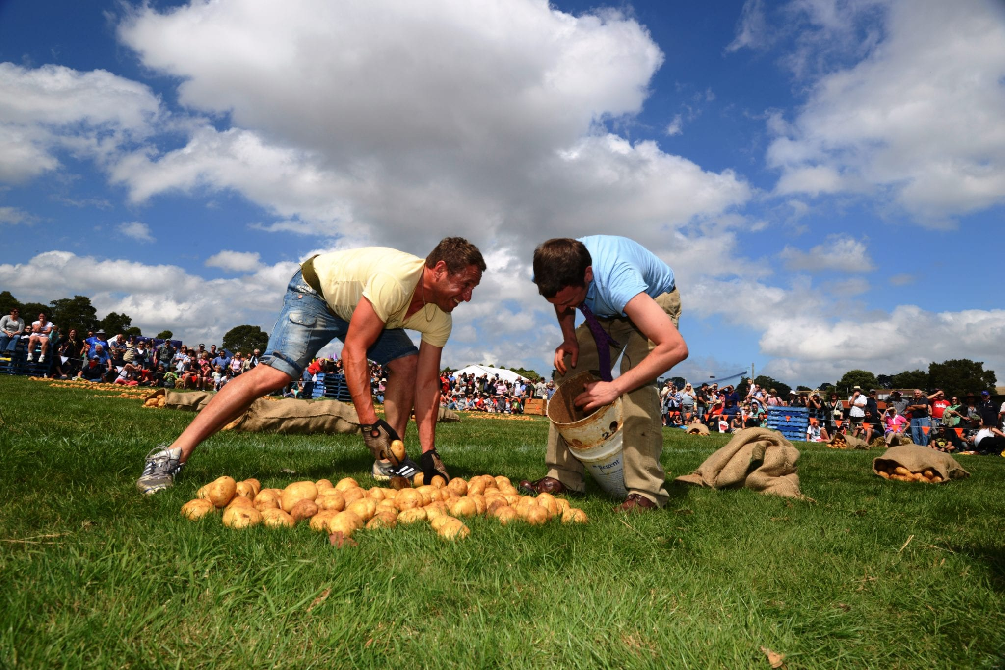 Potato Festival in Gippsland supported by Mirboo North Community Foundation