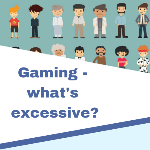 Gaming whats excessive
